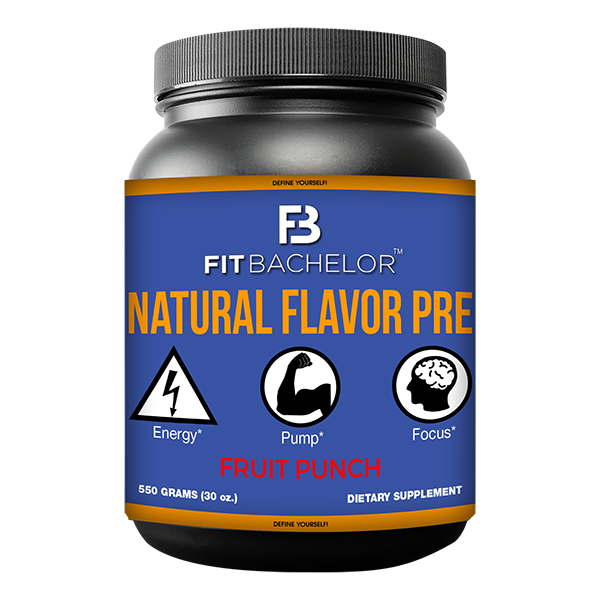 Fit Bachelor Natural Flavor Pre